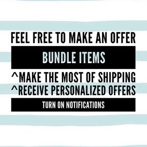 Make an offer, bundle, get personalized offers!